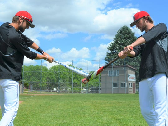Twins Jarrett and Kole DeLand are finishing up their