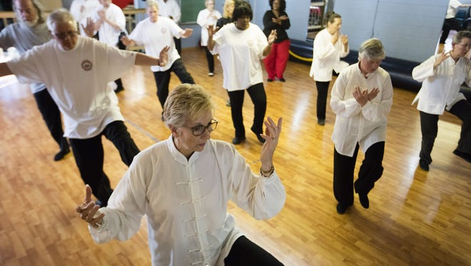 Tai chi is a healthy activity for seniors and other participants like these at the Nu Chapter Tai Chi Chuan & Qi Gong Health Institute in Louisville.
