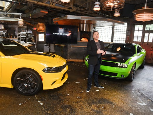 Tim Kuniski, Head of Passenger Car Brands, FCA , with