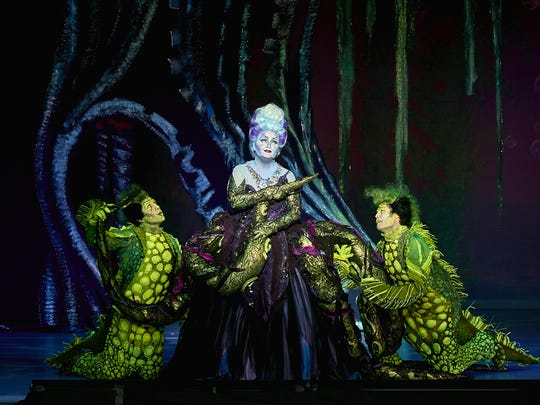 """""""The Little Mermaid"""" is the latest Broadway musical to set up shop at the Fox Cities Performing Arts Center. It runs through Sunday."""