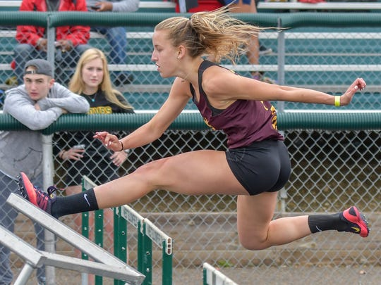 Seaholm senior Heather Meadows placed third in the