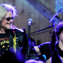 Daryl Hall and John Oates perform at Daryl's House in Pawling, Hall's restaurant and music venue, last October.