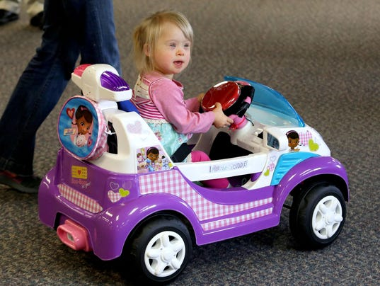 toy cars give kids with disabilities freedom to move. Black Bedroom Furniture Sets. Home Design Ideas