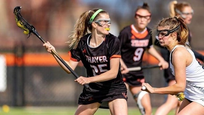 Anna Kenney (25) recently committed to join the women's lacrosse program at the University of Notre Dane.
