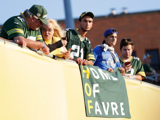Fans expecting to see the annual Pro Football Hall