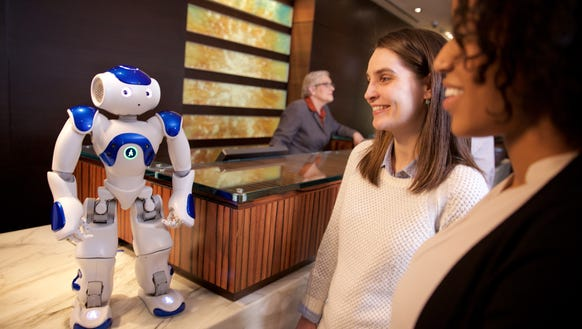 Hilton Worldwide is experimenting with a robot concierge