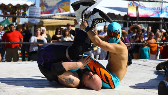 Professional lucha libre wrestling will be one of many