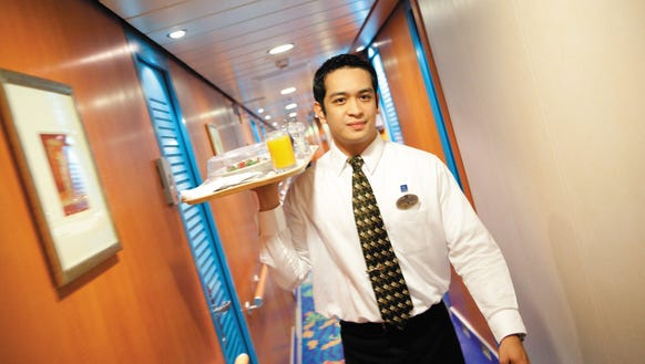 Norwegian Cruise Room Service Fee