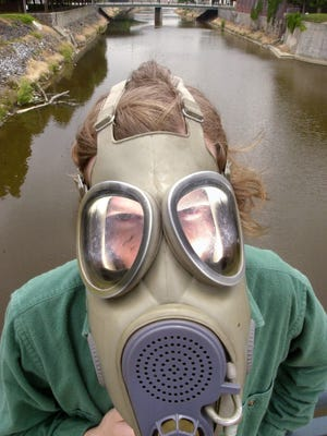 Michael Helfrich has been a proponent of pollution control in the Codorus Creek.