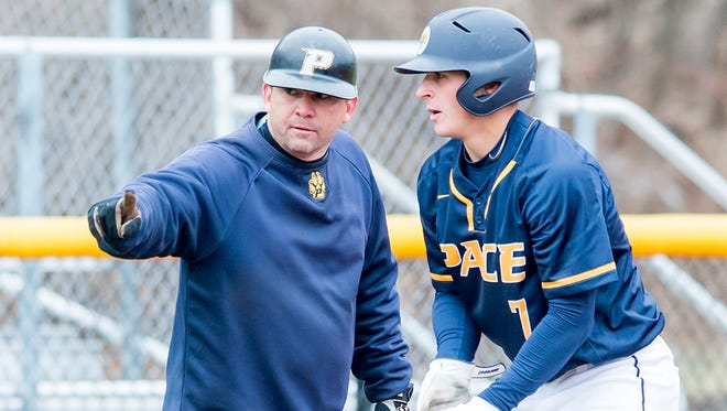 Hank Manning's 18th year as baseball coach at Pace University has developed into a season long celebration.