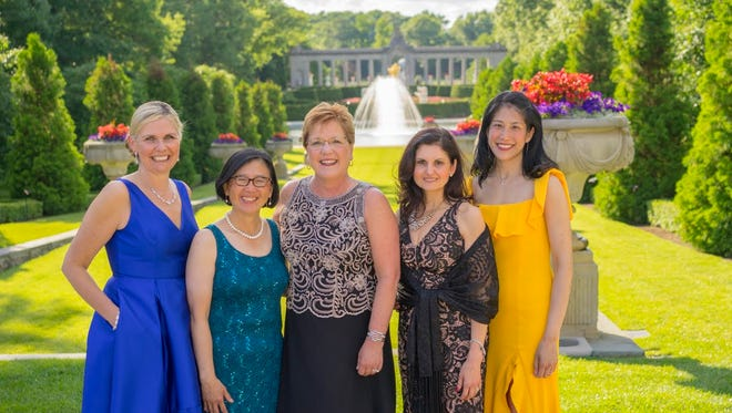 Laura Kowall, Mary Lee, Jane Mericle, Pauline Corso and Cindy Bo