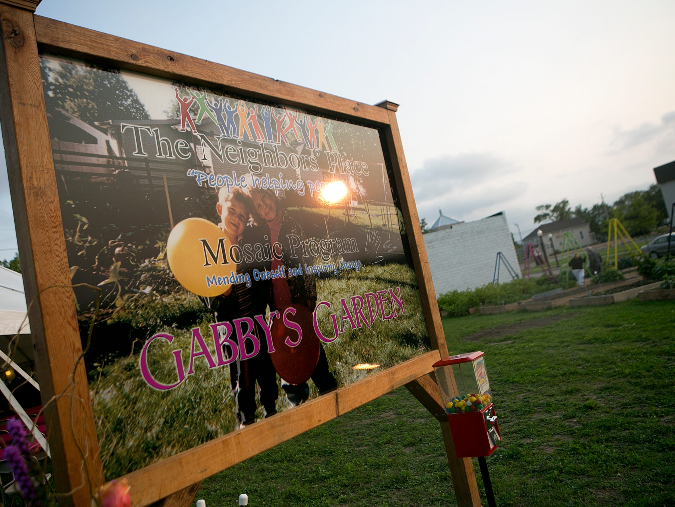 Gabby's Garden on Third Street in Wausau is named after