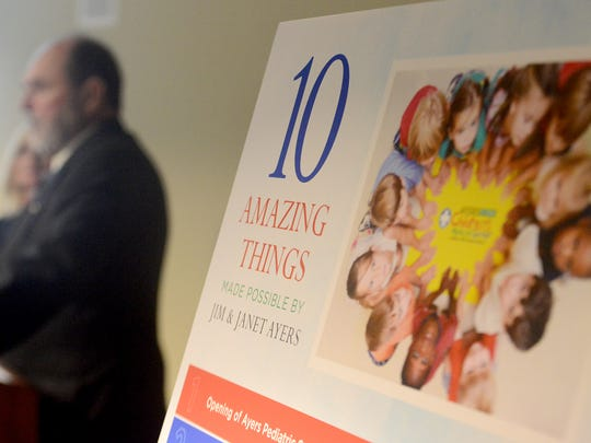 The Ayers Children's Medical Center is celebrating its 10-year anniversary with the Jackson-Madison County General Hospital. An appreciation luncheon was held in honor of Jim and Janet Ayers, Thursday afternoon.