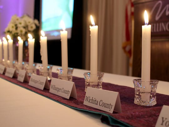 First Step had its 15th annual Candelight Vigil Tuesday,