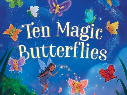 "One of Danica McKellar's newest books, ""Ten Magic Butterflies,"""