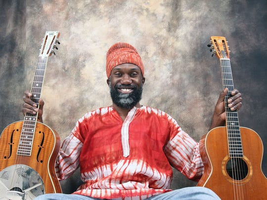 Blues and reggae artist Corey Harris is scheduled to