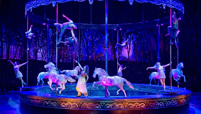 """Odysseo"" by Cavalia will feature high-tech theatrical effects and human and equestrian performers during shows from Nov. 11-Dec. 10 in Camarillo."