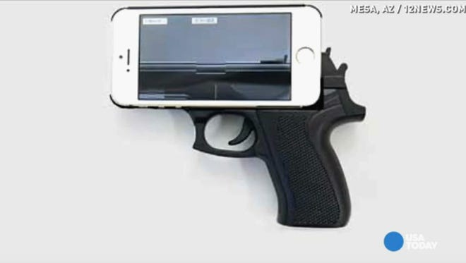 A ban on phone cases like this are being considered by officials in Yonkers
