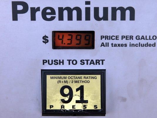 Buying Gasoline