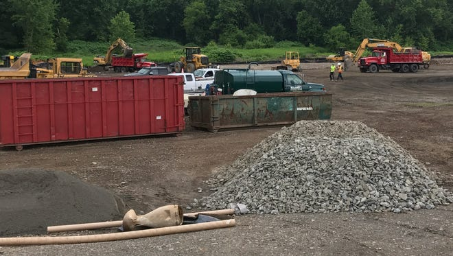 The Chenango Valley Central School District filed suit on Thursday asking the New York State Supreme Court to overturn the Town of Fenton's approval of natural gas transfer station being built on the West Service Road in Port Dickinson.