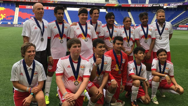 Special Olympics New Jersey's Unified soccer team defeated Orlando City SC on Saturday at Red Bull Arena.