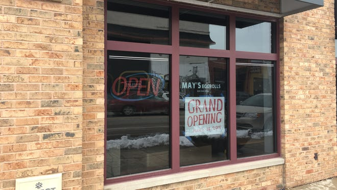 May's Egg Rolls will open in the Broadway District at 10 a.m. March 10 with a ribbon cutting and remarks from Mayor Jim Schmitt.