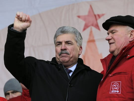 Presidential candidate of the Russian Communist Party