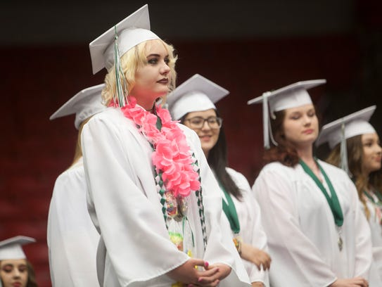 Millcreek High School commemorates the graduation of