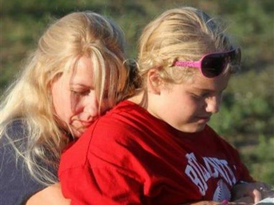 mom autistic daughter