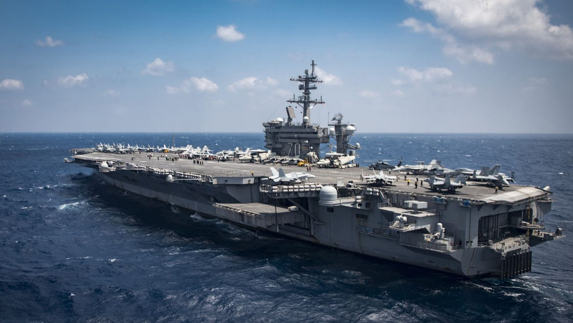 Mattis tries to downplay confusion over carrier's roundabout Korea mission