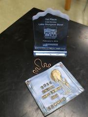 Two awards won by the Marshfield High School Ocean