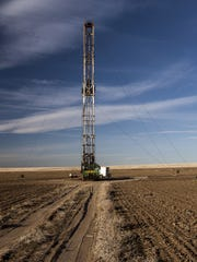File photo: Fracking drilling in colorado
