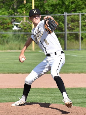 Ty Weatherly was 5-0 with a 1.89 ERA for Howell's baseball team in 2017.