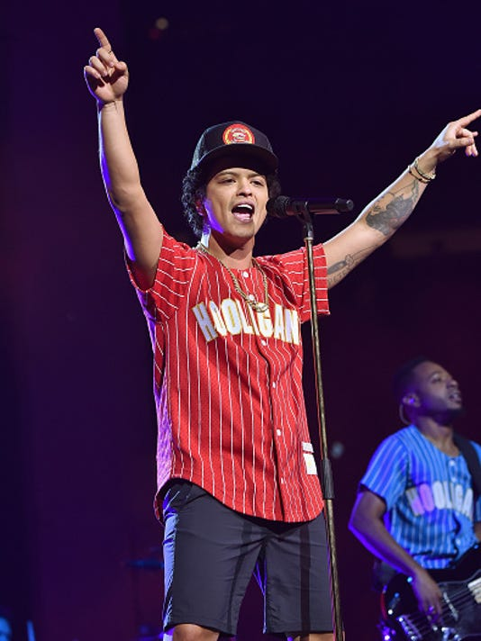 Bruno Mars: 24K Magic World Tour - Madison Square Garden