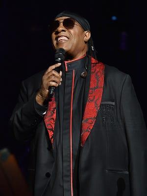 Stevie Wonder performs onstage during Stevie's 21st Annual House Full of Toys Benefit Concert at Staples Center on December 10, 2017 in Los Angeles, California.