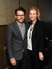Steven Dubbeldam and Sarah Dubbeldam attend REVISIT Launch Party on April 3, 2014 in Los Angeles, California.