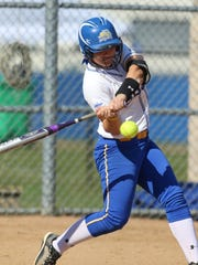 SDSU's Ali Herdliska is tied for the Summit League lead with 10 home runs