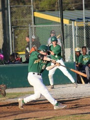 Edgewood baseball senior Christian Smith