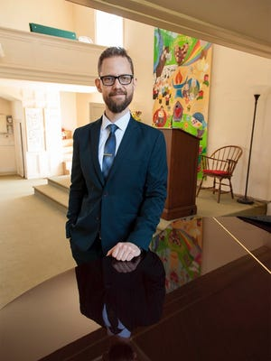 Rev. Seth Fisher is the new minister at Unitarian Universalist Fellowship of Hunterdon County.