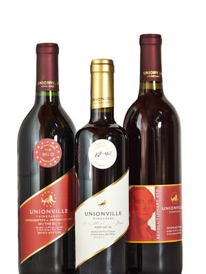 Jersey wines -- made by Unionville Vineyards