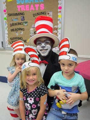 The Leon County Public Library invite you to celebrate Dr. Seuss on March 18.