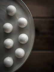 Pearl truffles from Chocodiem.