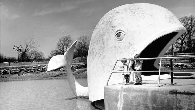 Willie the Whale at the old Indianapolis Zoo April 8, 1965.