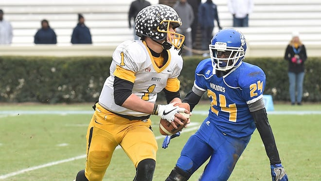 Quarterback Joey Curry will be one of the top returning starters for the Murphy football team.