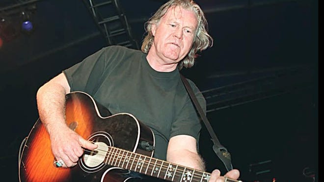 Billy Joe Shaver plays during SXSW in 1995.
