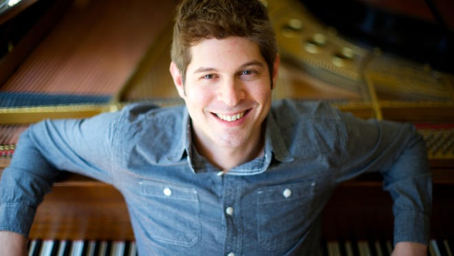 """Adam Schoenberg, who will be a composer-in-residence at the College Music for the week was nominated for a Grammy for his piece """"Picture Studies"""" in the same category as Tian's."""