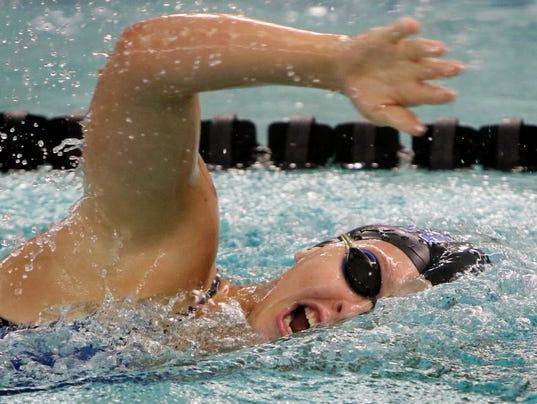 Oak Creek Girls Swimming at Franklin