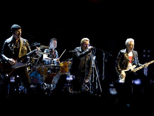 u2 concert: