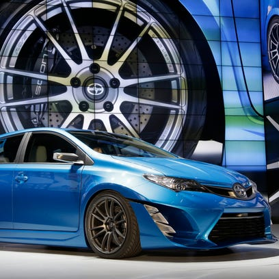 The Scion iM, seen here as a concept, is one of Toyota's newest models