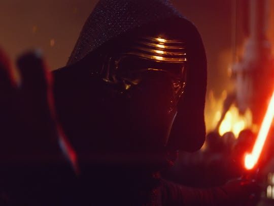 The masked and mysterious Kylo Ren seems to know the